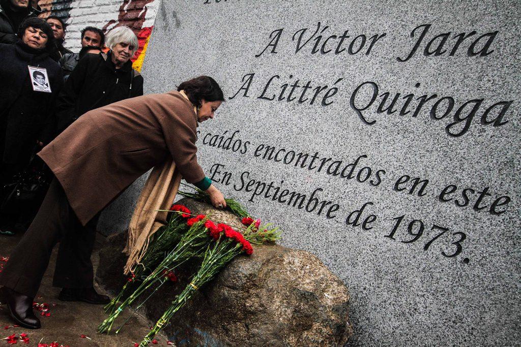 Descubren Memorial del Cantautor Chileno Víctor Jara