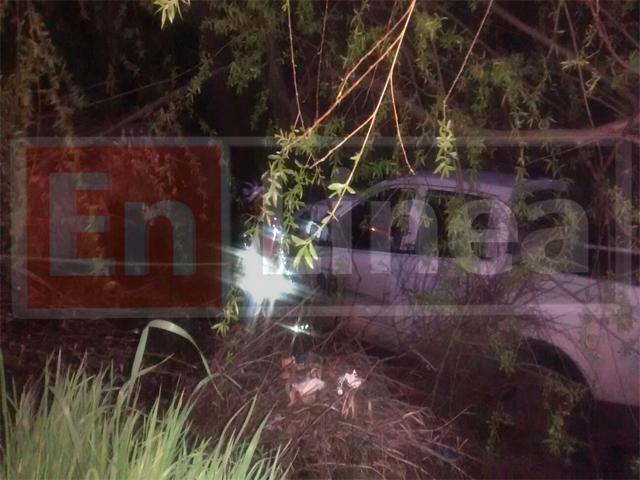Camioneta cae a Zanja y Conductor Salva Milagrosamente en Talca