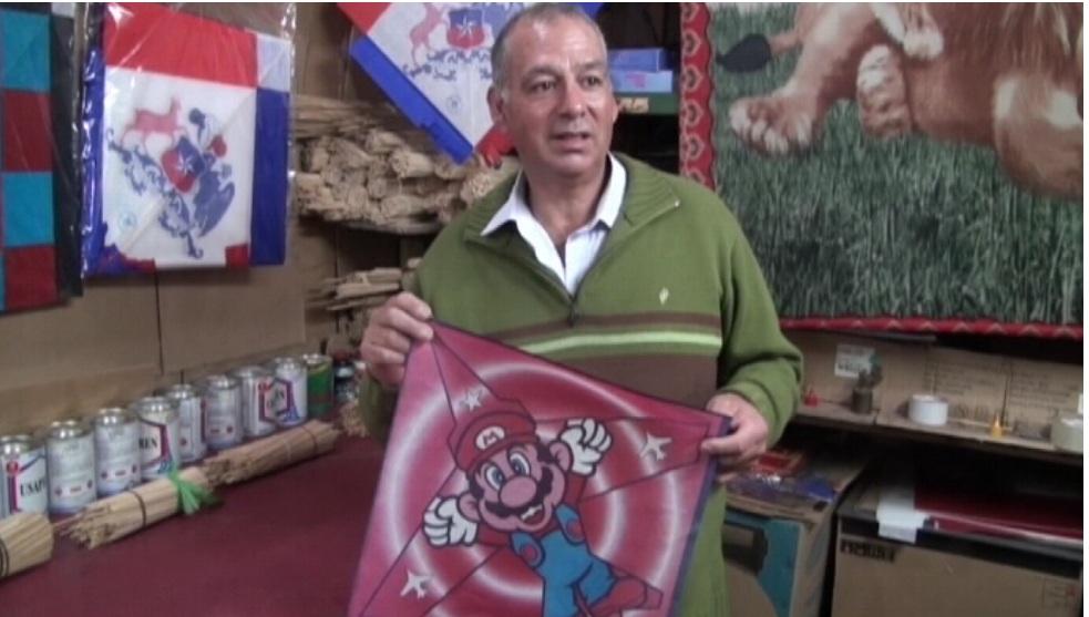 Fabricantes de Volantines mantienen la Tradición en Fiestas Patrias