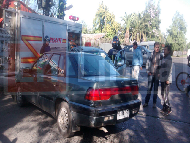 Colisión en Sector Sur deja a Conductora Lesionada en Talca