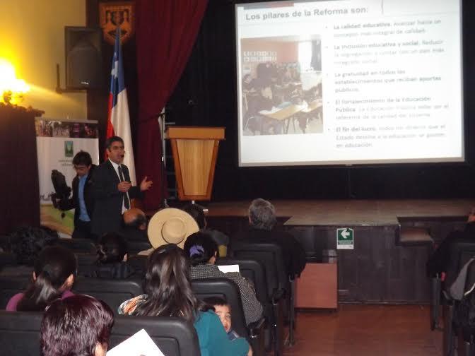40 Colegios se Suman a Jornada de Reflexión sobre Reforma Educacional