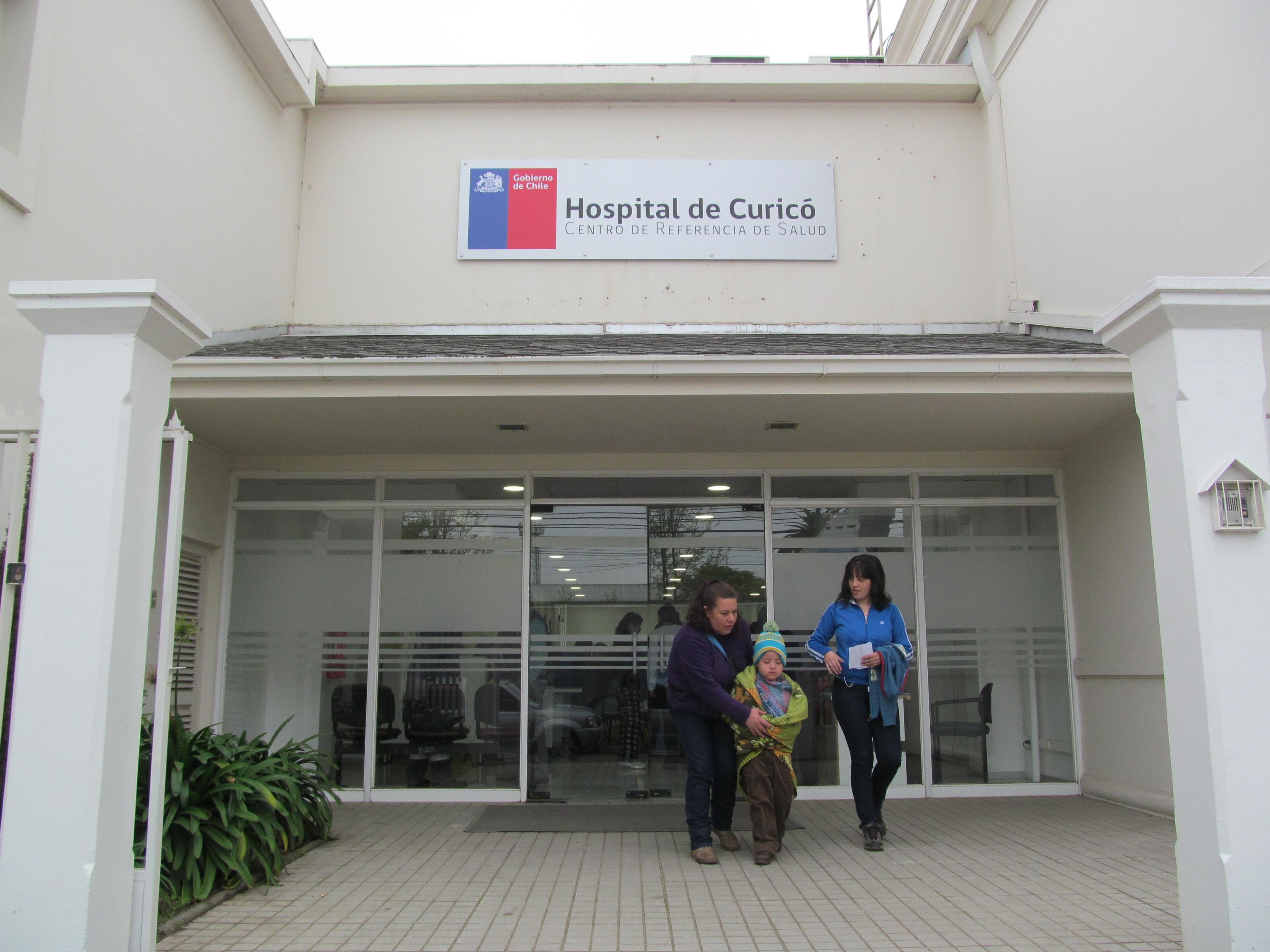 CRS-CURICÓ Prosigue con Traslados de Servicios