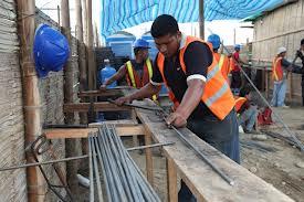 Estancamiento en los sueldos de la construcción frena alza de costos de las obras
