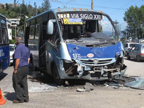 Nueve Heridos Deja Choque en Chiguayante