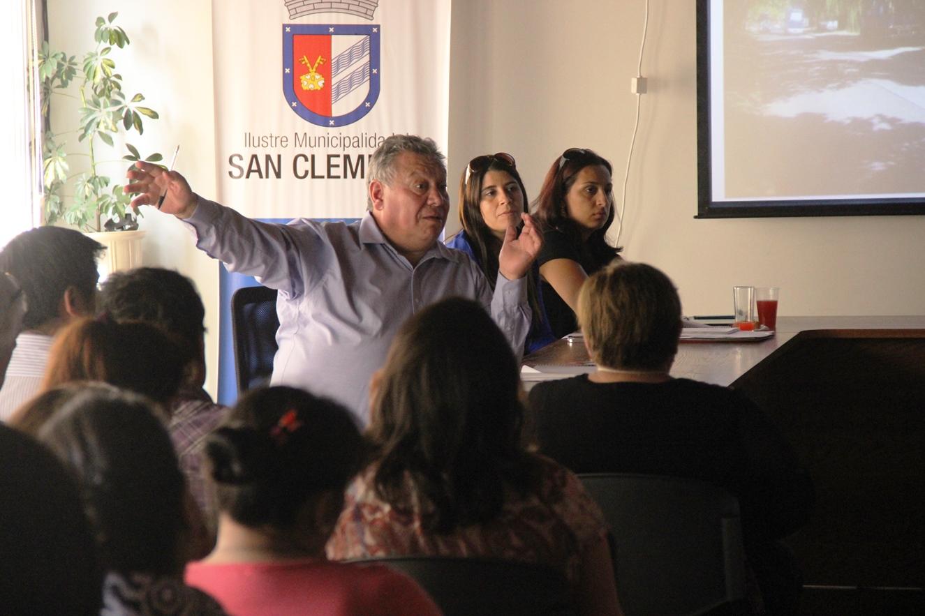 Analizan Proyectos de Adelanto para San Clemente