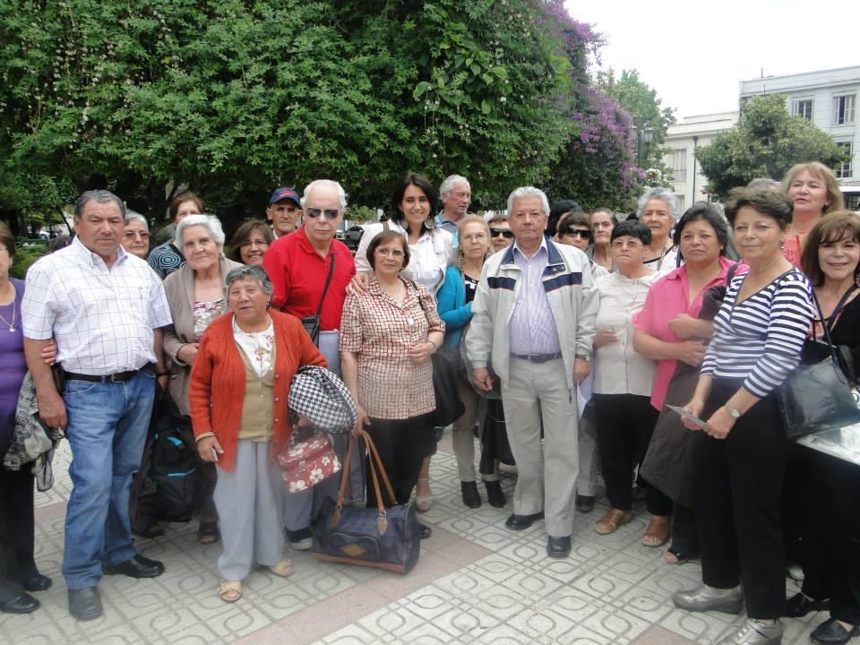 Ministerio de Desarrollo Social entregó protocolo en centros de estadía para adultos mayores