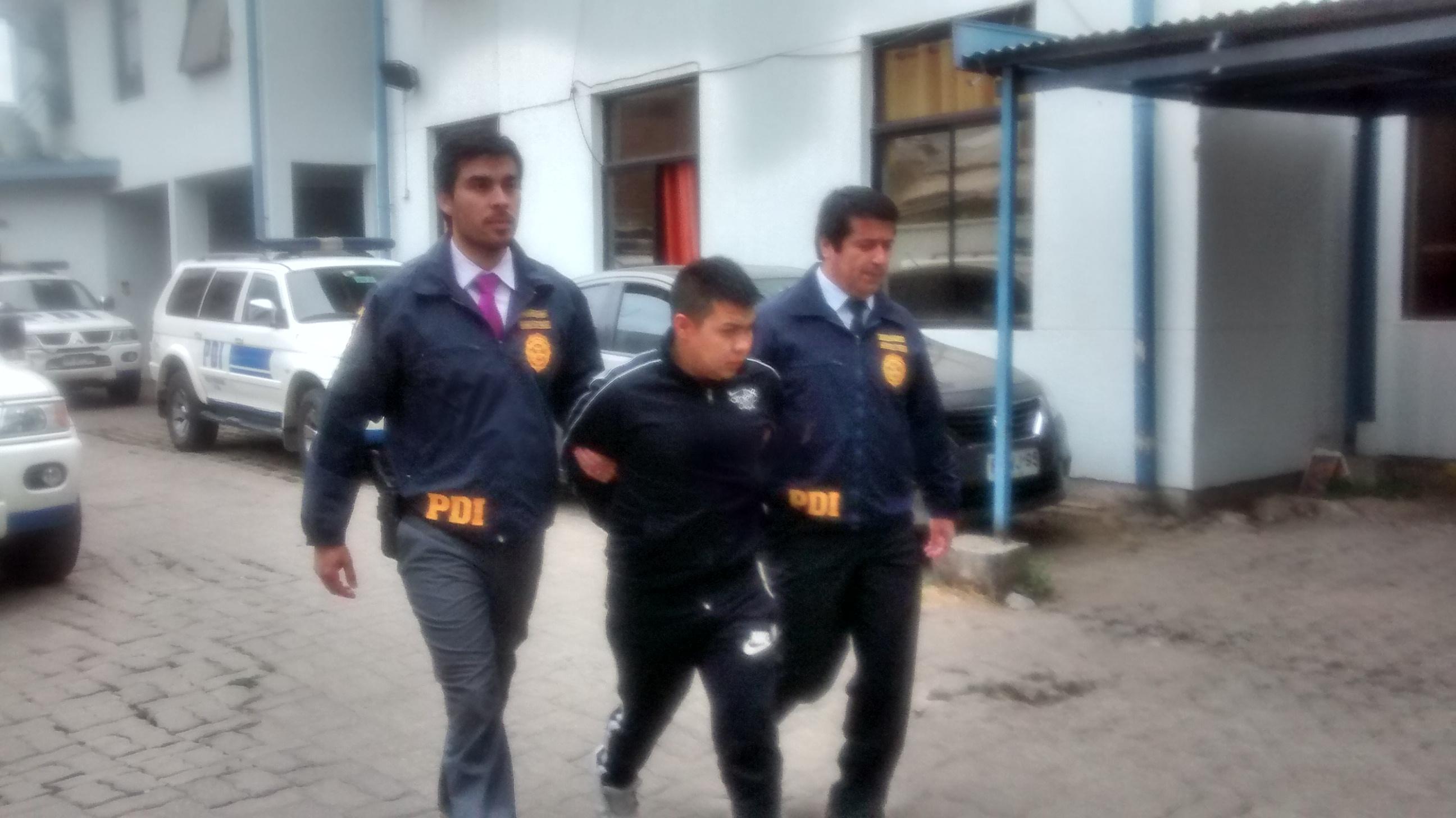 Detenido por la PDI niega robo previo al baleó de un joven en Talca