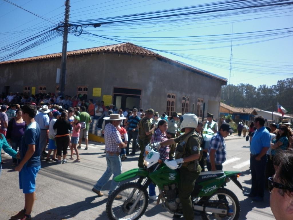 Positivo balance realiza Carabineros en Fiesta de La Candelaria en Chanco