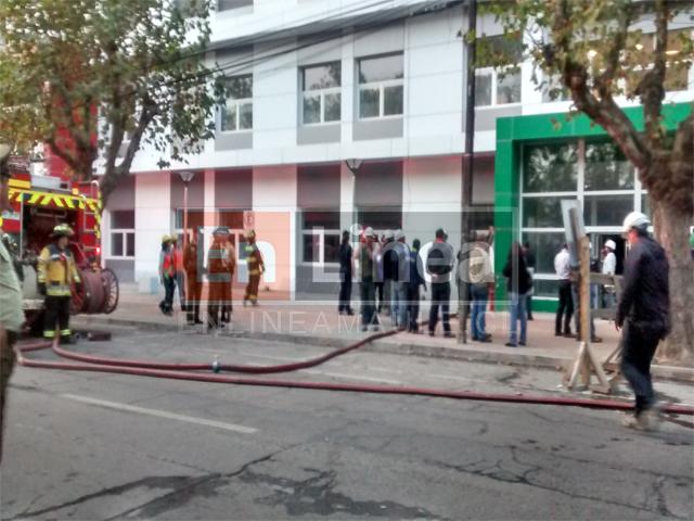 Tensión causó amago de incendio en el Hospital de Talca