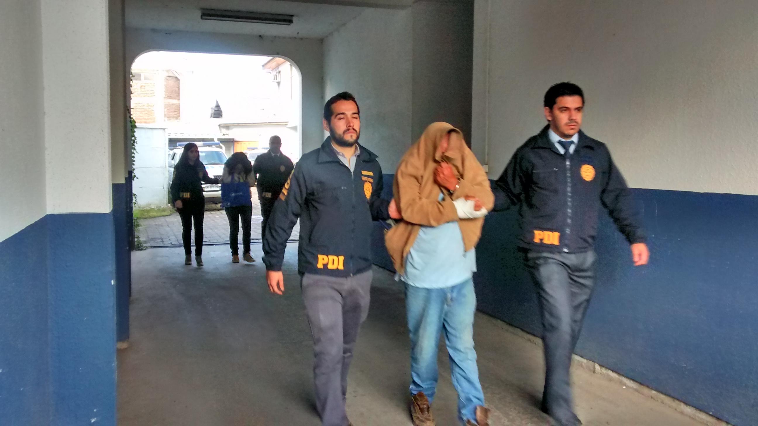 Detienen a pareja por facilitación a la prostitución infantil en Talca