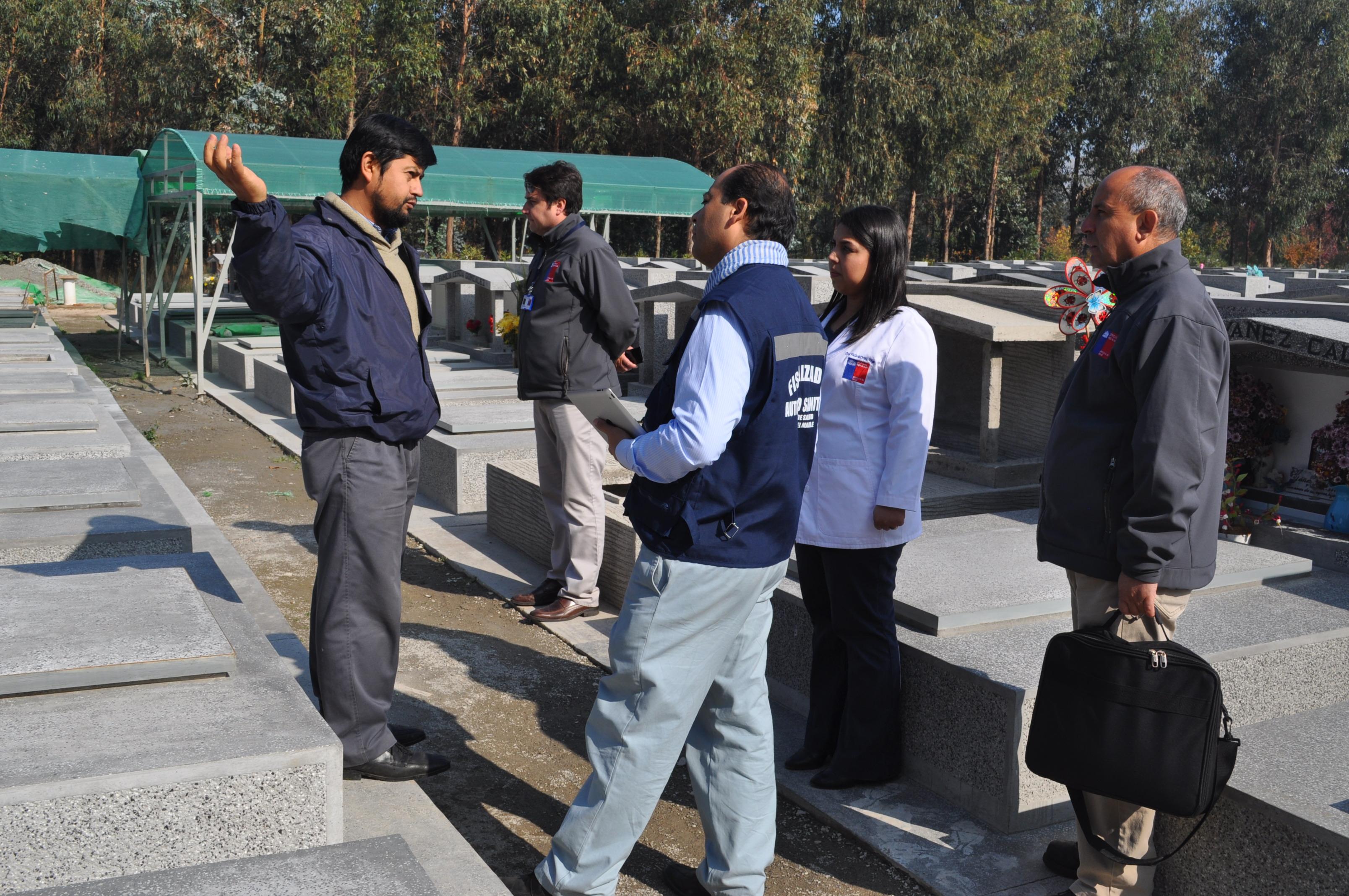 Sumario Sanitario para Cementerio Sacro de Linares