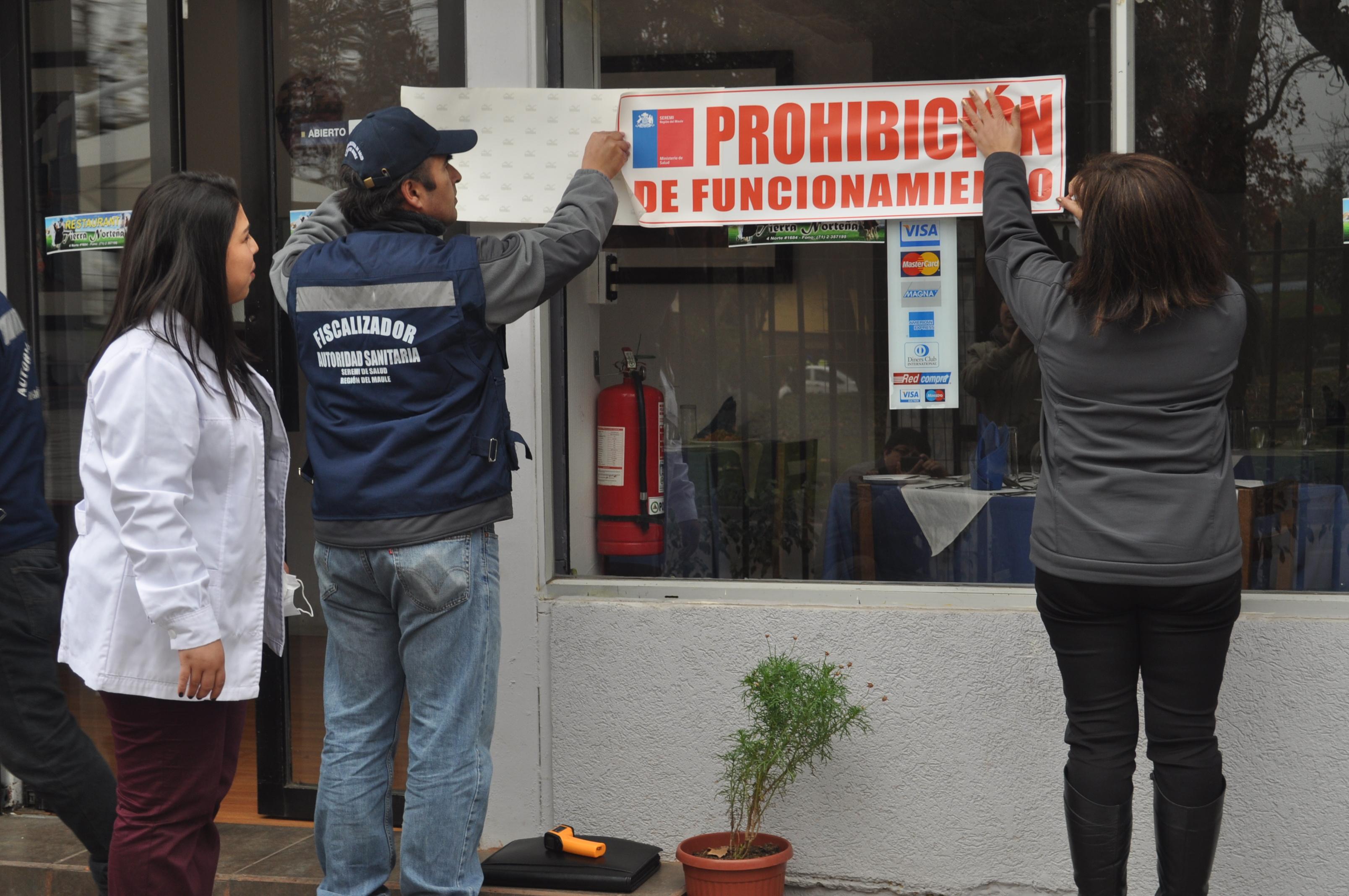 Prohiben funcionar a restaurantes peruanos en Talca