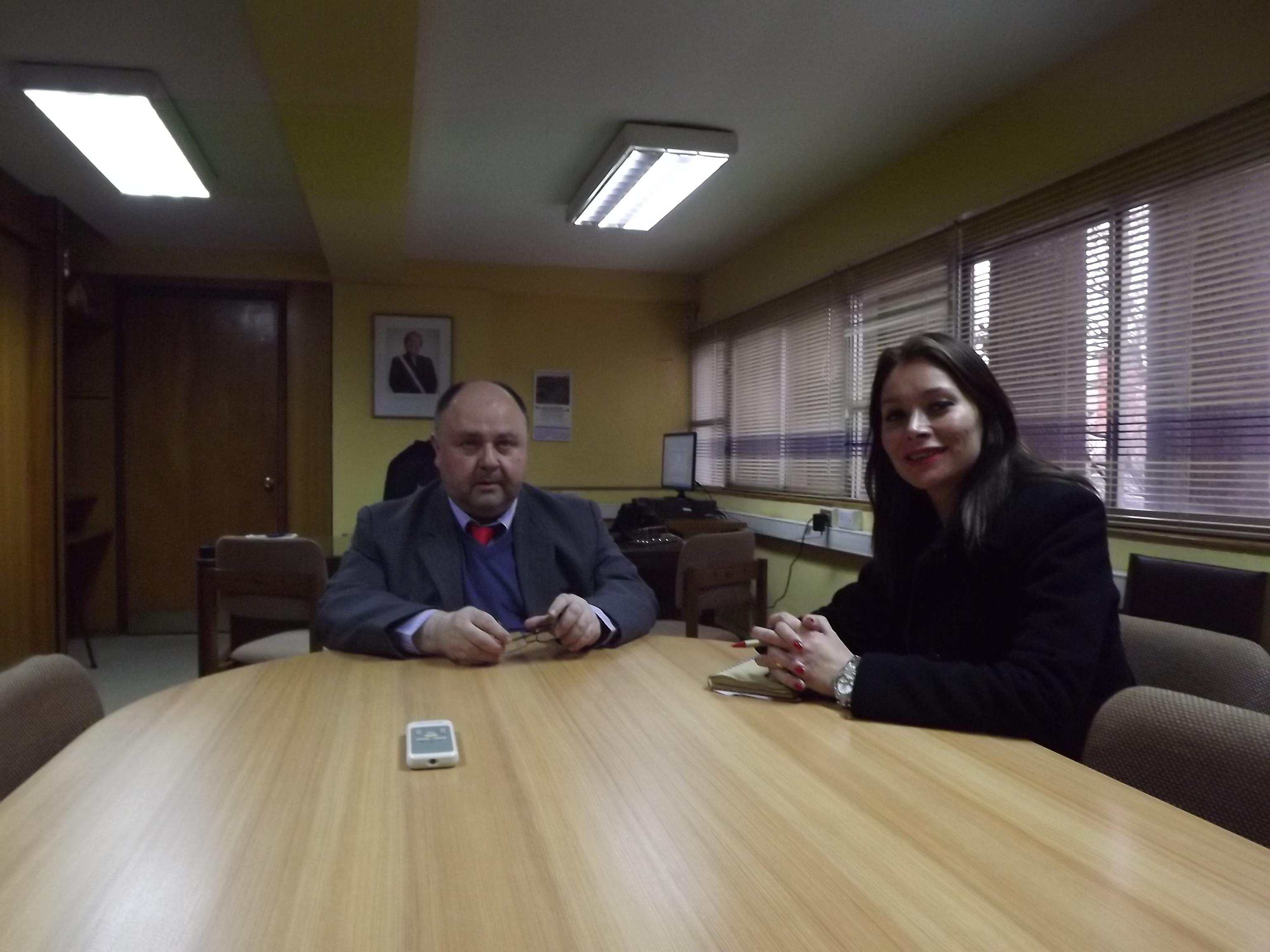 Gobernadora de Linares se reunió con el nuevo SEREMI del MOP en el Maule