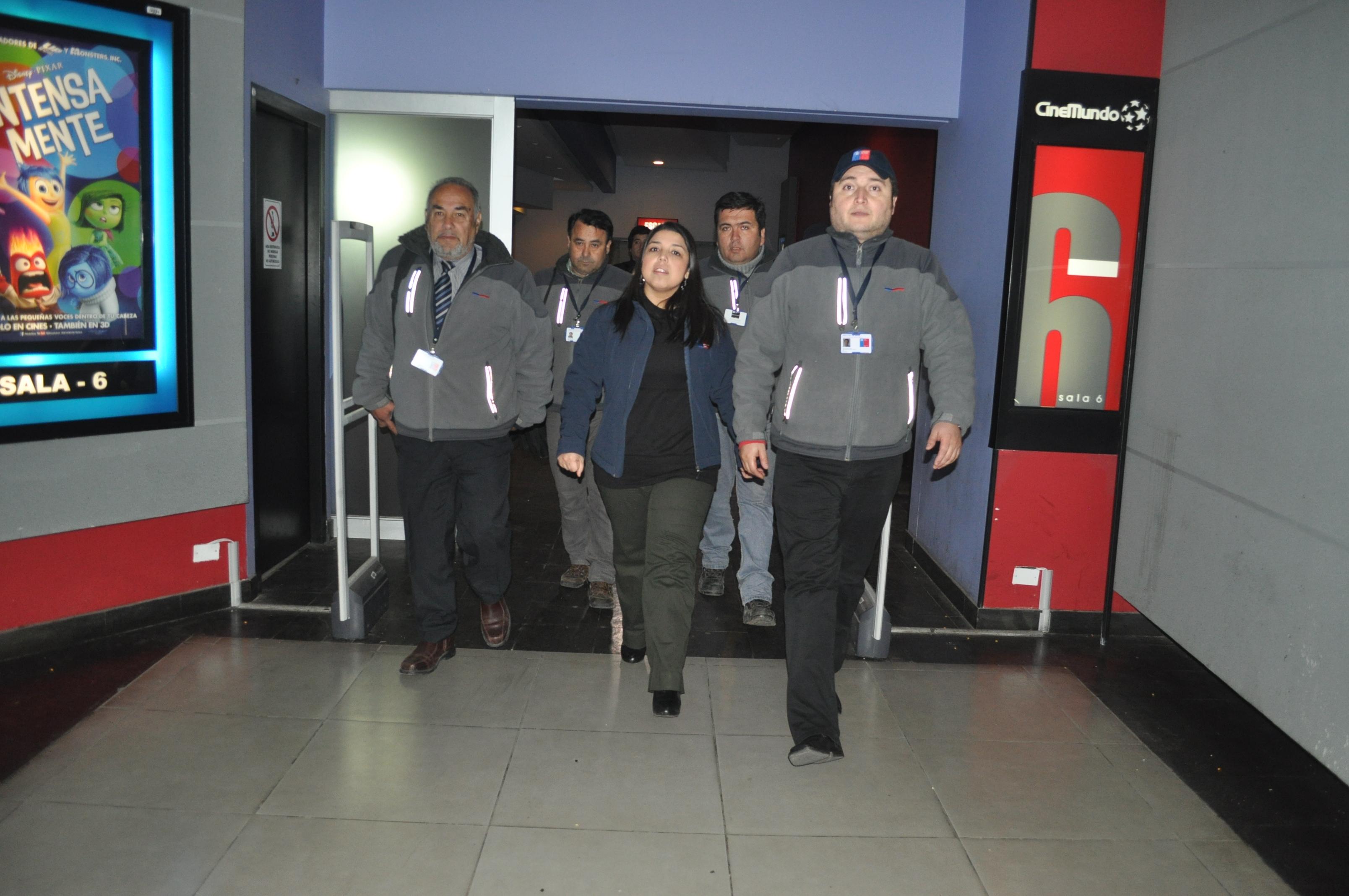 Sumario Sanitario para cine en Curicó