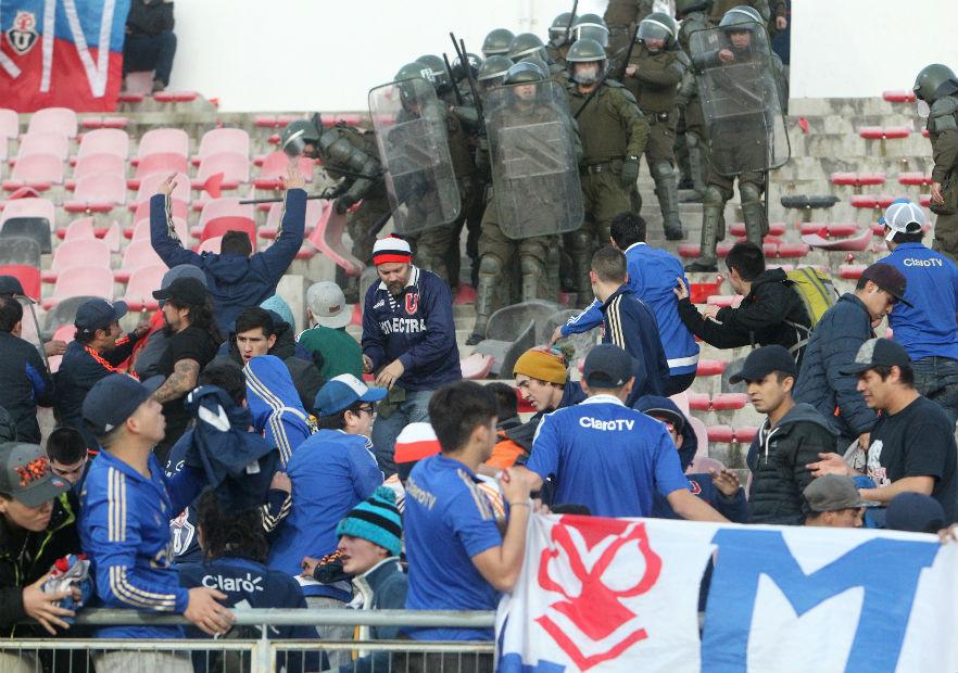 Suspendido por incidentes duelo entre Rangers y Universidad de Chile
