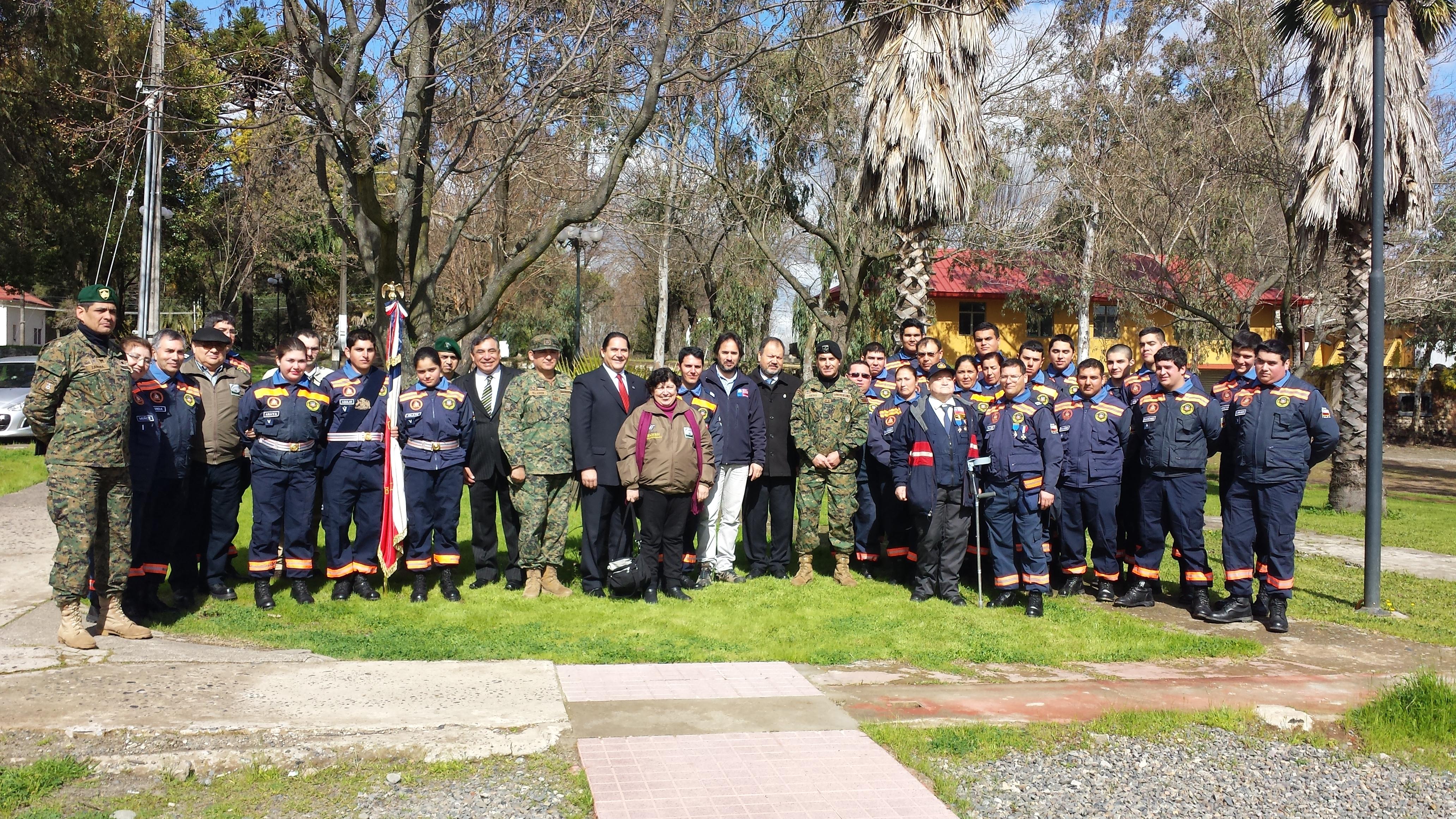 Conmemoran un nuevo año de servicio de la Defensa Civil