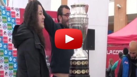 [Video] Por fin los maulinos pudieron tocar en Talca, la ansiada copa América.