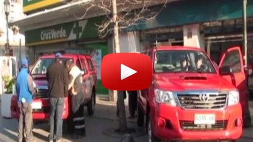 [Video] Una importante entrega de vehículos y carros odontológicos se efectuó en el centro  de la ciudad de Talca.