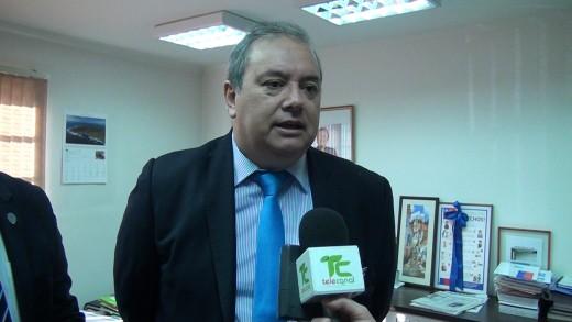 [Video] Primeras reacciones del Ex Intendente Hugo Veloso a minutos de entregar el cargo.