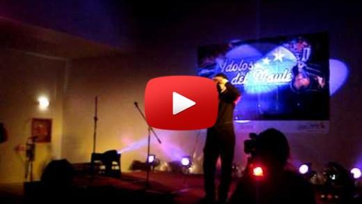 """[Video] En Casino Talca se realizó la Tercera versión del Concurso """"Idolos del Maule""""."""