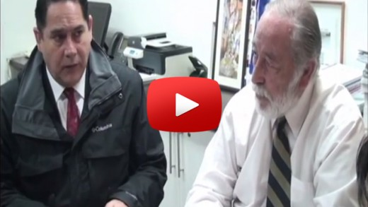 [Video] Intendente del Maule Pablo Meza pidió mucho trabajo en terreno y contacto permanente con las personas.