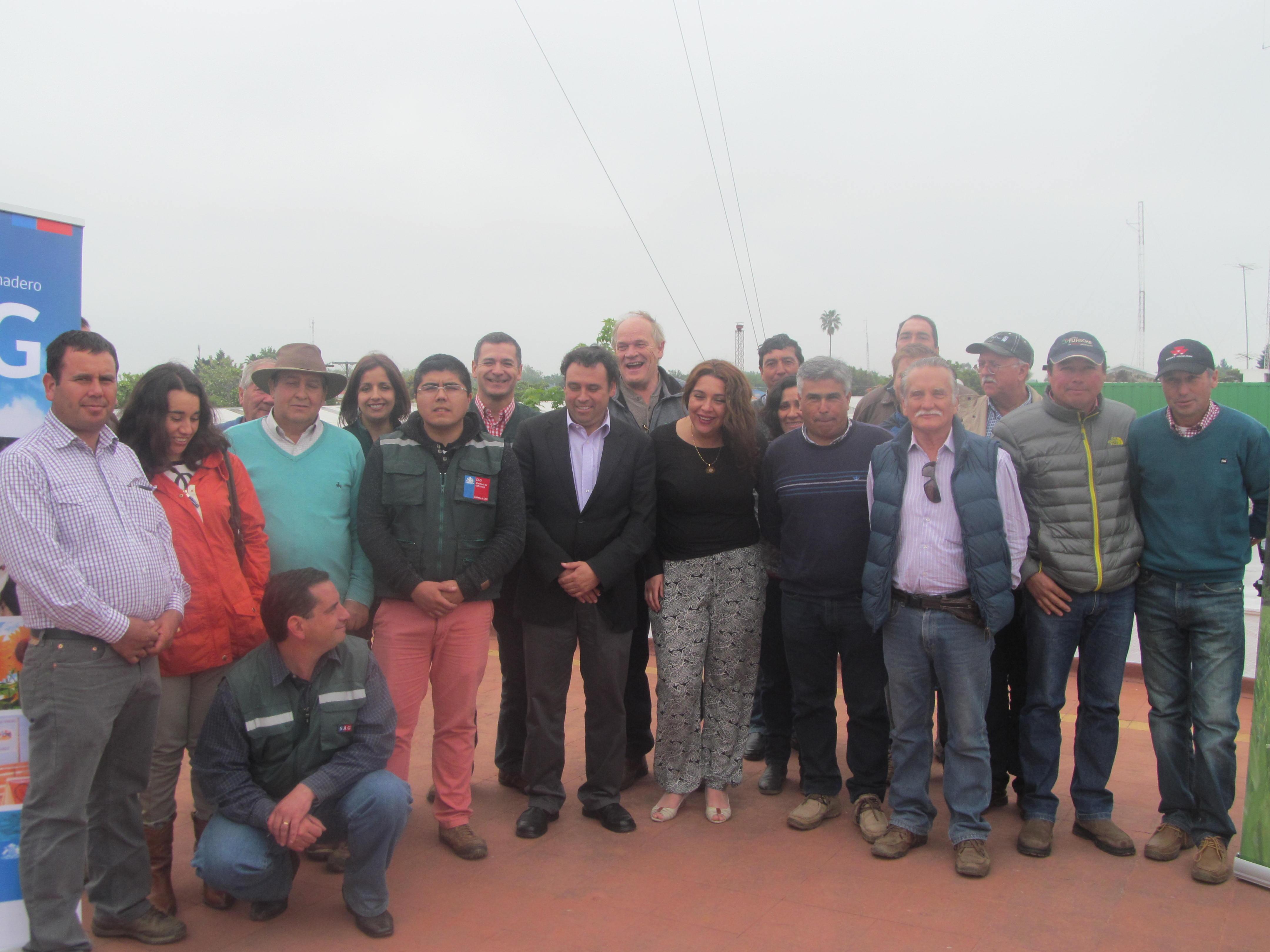 Entregaron incentivos del programa de recuperación de suelos