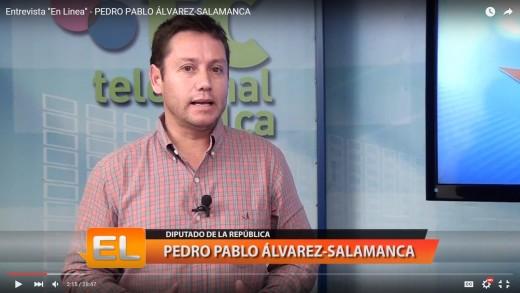 [Entrevista] Diputado Álvarez-Salamanca se refirió a la crisis del trigo y proyectó el escenario electoral de este año.