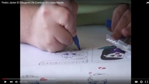 "[Reportajes] Conozca la historia del Talquino Pedro Javier ""El artista de los Comics""."