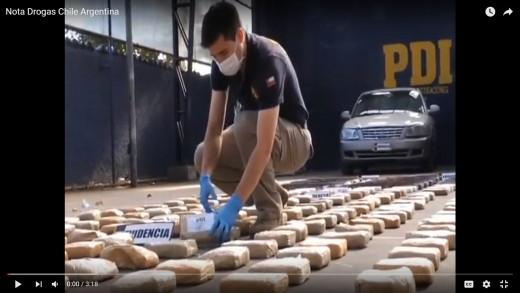 [Video] Brigada antinarcóticos PDI de Talca, desarrolla encuentro con policía de Mendoza y aduana Argentina.