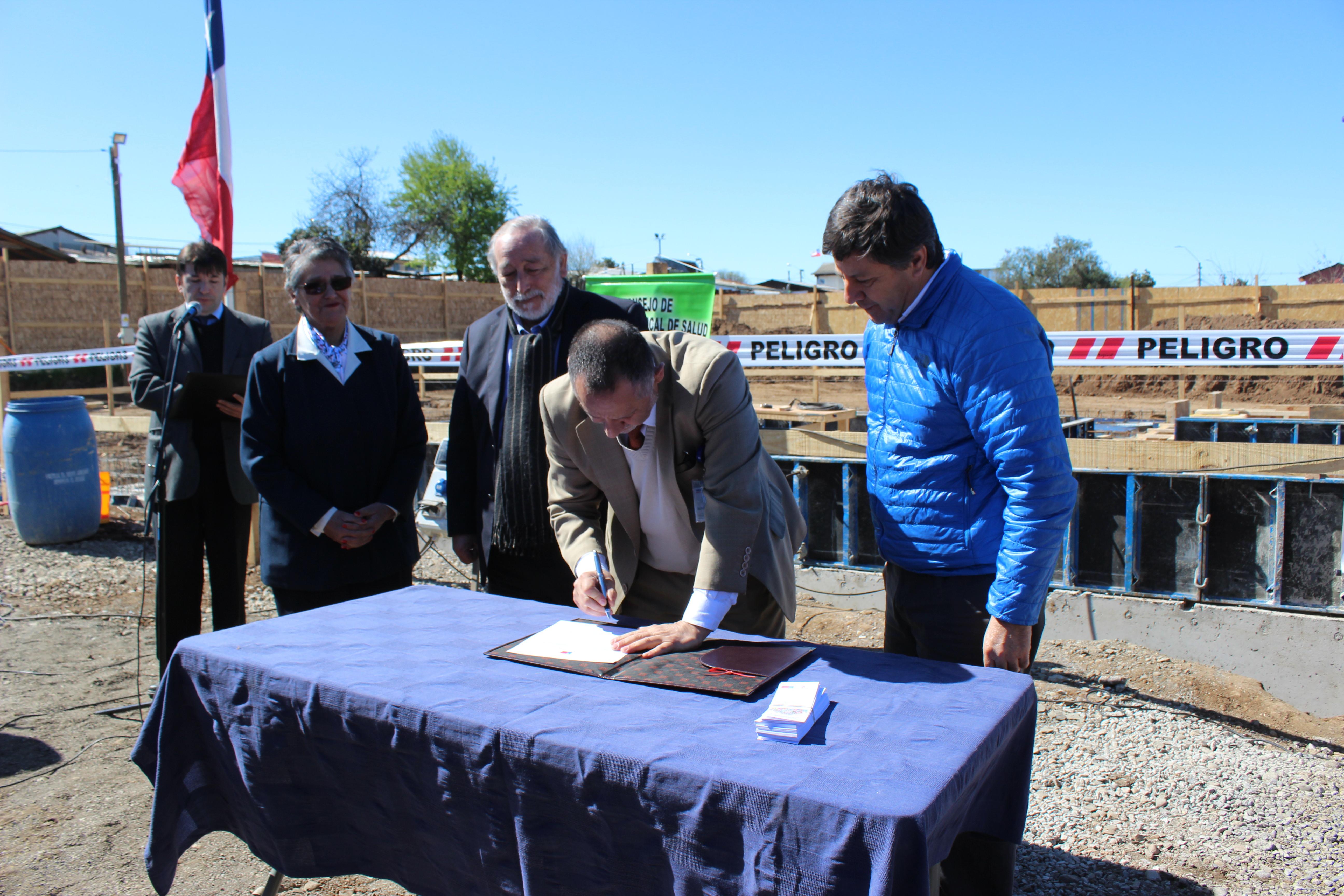 Oficialmente se dio el vamos a la construcción del Cecosf Carlos Trupp