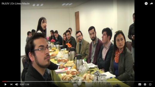 [Video] INJUV se reúne con jóvenes candidatos a concejal de la provincia de Talca.