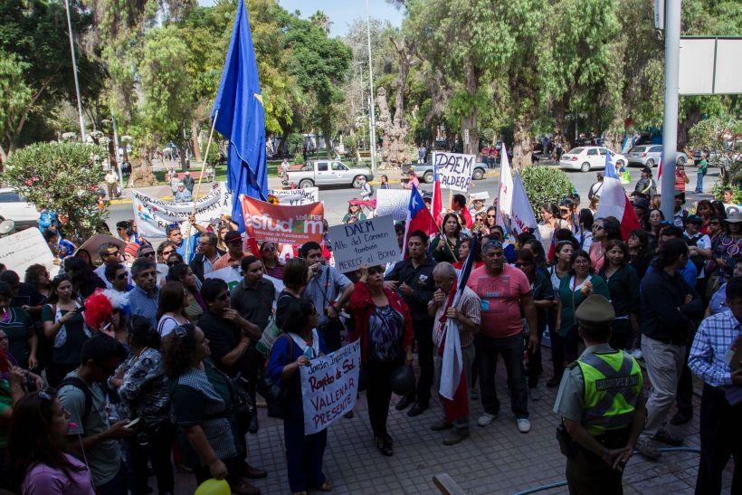 Trabajadores anuncian paro y movilizaciones en contra del gobierno