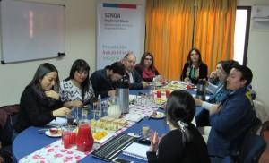 Mesa Regional de Drogas del SENDA firma acuerdo de colaboración con casa de educación Superior AIEP