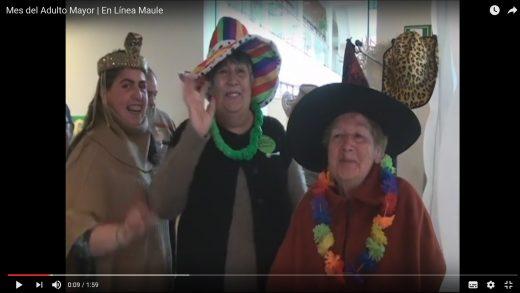 [Video] El Maule es la segunda región con mayor cantidad de adultos mayores del país.