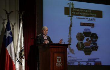 Para enfrentar crisis hídrica Chile debe llegar al 75% de riego tecnificado, según seguró,  Ministro de agricultura Carlos Furche.