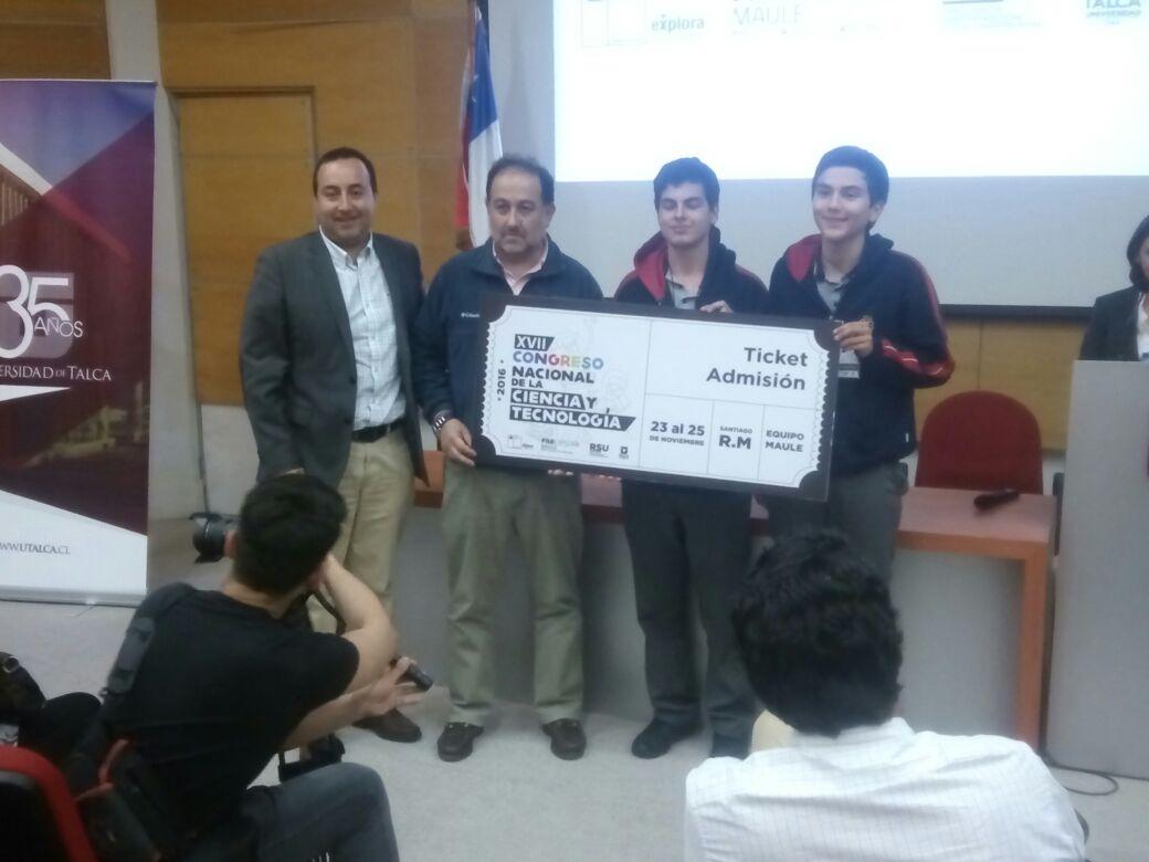 Estudiantes de Maule, Talca y Linares representarán a la región en Congreso Nacional de Ciencias