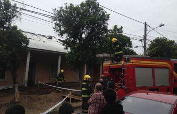 Mujer muere calcinada en incendio registrado en vivienda de Villa Alegre,