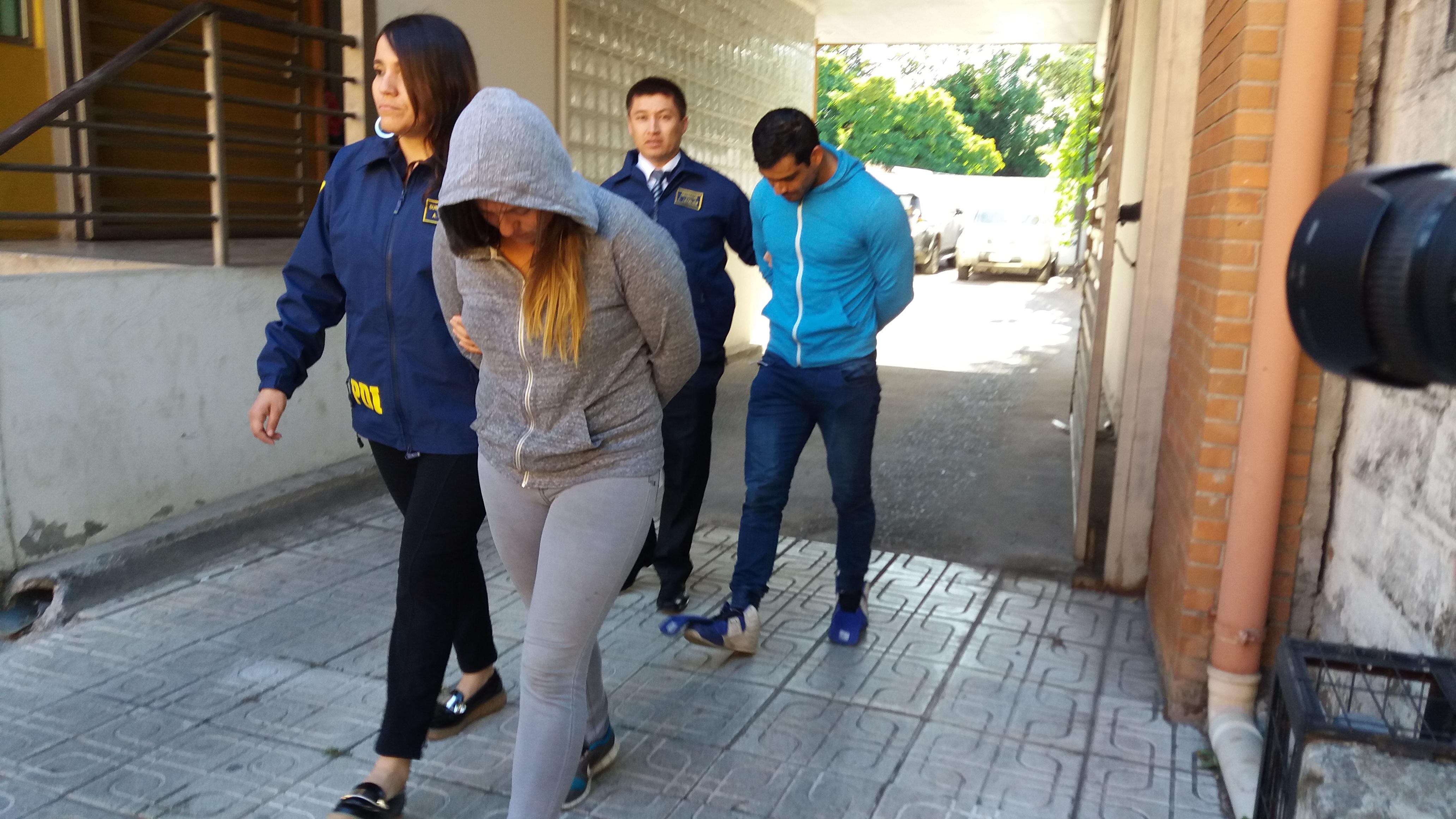LA PDI DE TALCA DETIENE A PAREJA POLOLOS DEDICADA AL MICROTRÁFICO DE DROGAS EN ESTA CIUDAD.