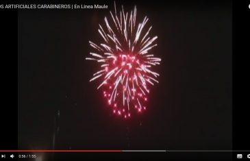 Mal uso de fuegos artificiales: desde ahora será considerado delito simple