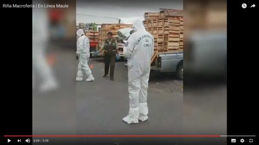 [Video] Un muerto y un herido grave deja violenta riña al interior del patio 2 del parque industrial de Talca.