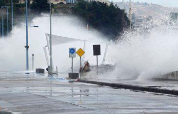 Onemi: Alerta preventiva por fuertes marejadas