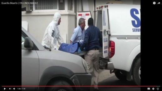 [Video] En Talca, guardia de seguridad es encontrado muerto en su lugar de trabajo.