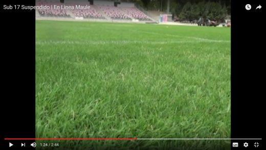 """[Video] Alcalde por suspensión de sede por CONMEBOL """"No permitiremos que se pase a llevar a la ciudad de Talca""""."""