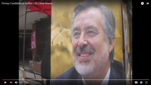 [Video] Actividad en Talca reunió firmas independientes para hacer legitima candidatura de Alejandro Guillier.