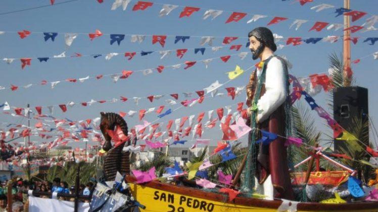 Fiesta de San Pedro en Putú