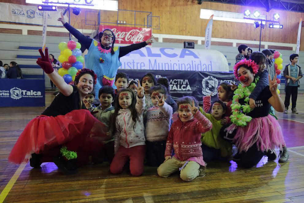 Entretenidas actividades en vacaciones de invierno ofrece gimnasio Cendyr