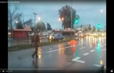 [Video] Trágico accidente termina con la vida de una anciana en el sector oriente de talca.