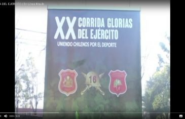 "[Video] Lanzan la XX corrida familiar ""Glorias del Ejército""."