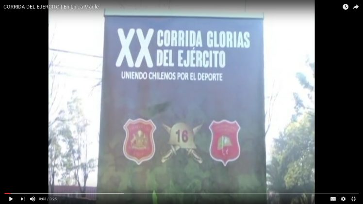 """[Video] Lanzan la XX corrida familiar """"Glorias del Ejército""""."""