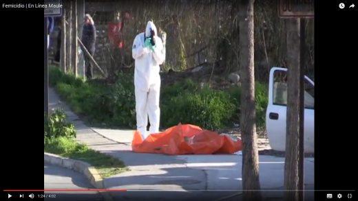 [Video] Conmocionados se encuentran los habitantes de Lontue, luego que un hombre asesinara a su mujer y despues se quitara la vida en plena calle.